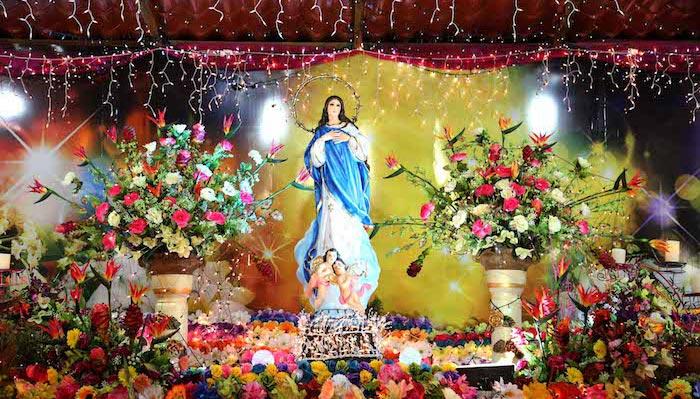 Nicaragua Celebración de la Purísima